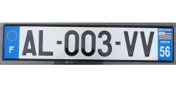 France 2010's-DEPARTMENT 56 BRETAGNE license plate