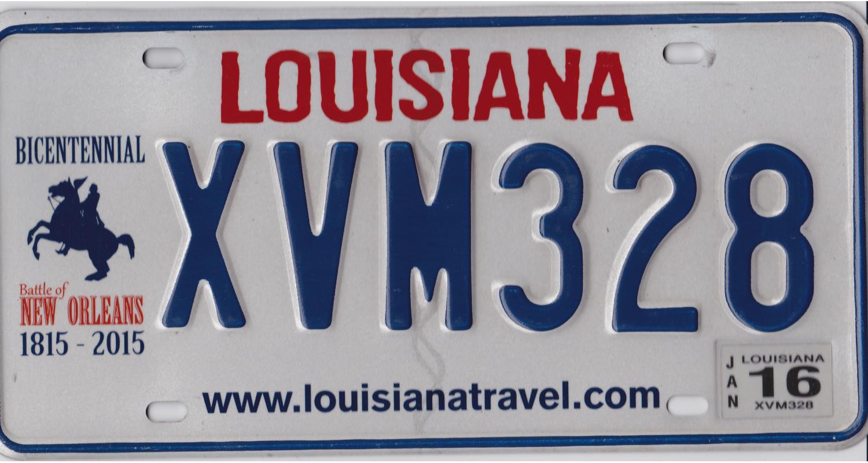 Louisiana 2016 BICENTENNIAL 1815-2015-BATTLE OF NEW ORLEANS