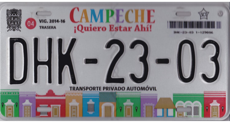 Mexico 2014 CAMPECHE