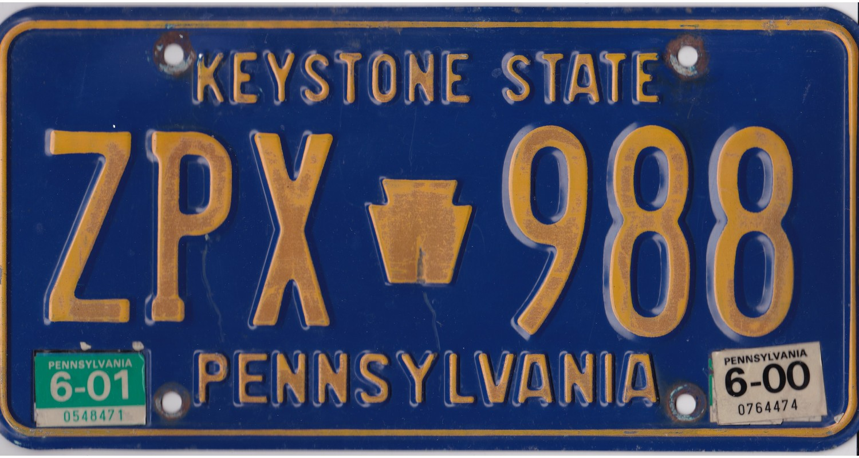 Pennsylvania 2001