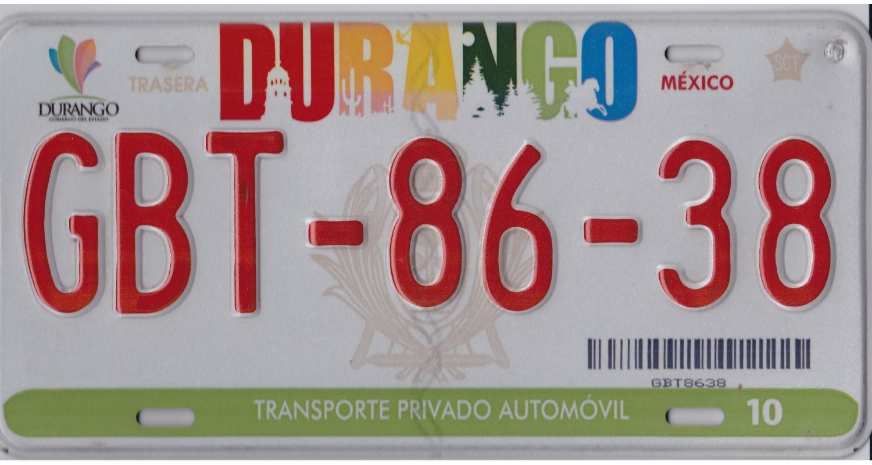 Mexico 2010's DURANGO