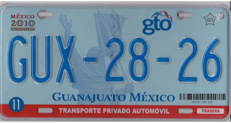 Mexico 2010's GUANAJUATO