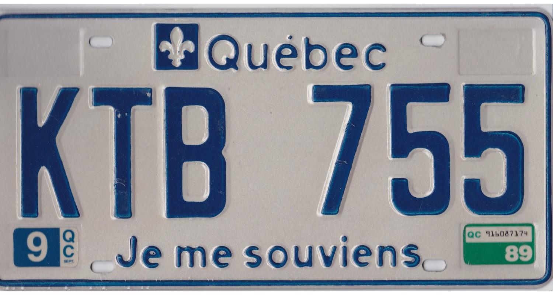 Quebec 1989