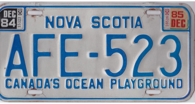 Nova Scotia 1985