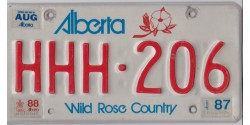 Alberta 1988 Triple HHH. CALGARY WINTER OLYMPIC