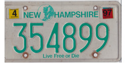 New Hampshire 1997-LIVE FREE OR DIE