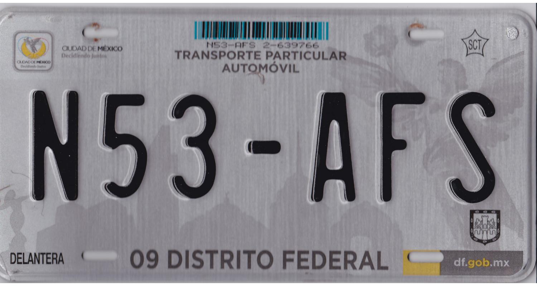 Mexico 2010's DISTRITO FEDERAL