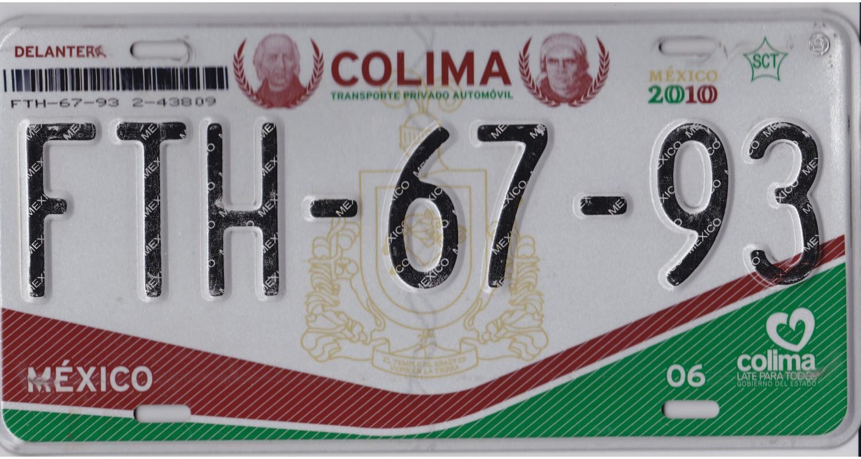 Mexico 2010 COLIMA