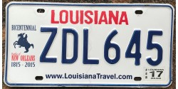 Louisiana 2015's BICENTENNIAL 1815-2015-BATTLE OF NEW ORLEANS