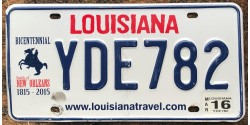 Louisiane années 2015-BICENTENAIRE 1815-2015-BATTLE OF NEW ORLEANS