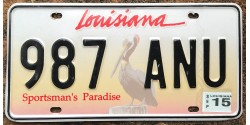 Louisiane 2015-PELICAN