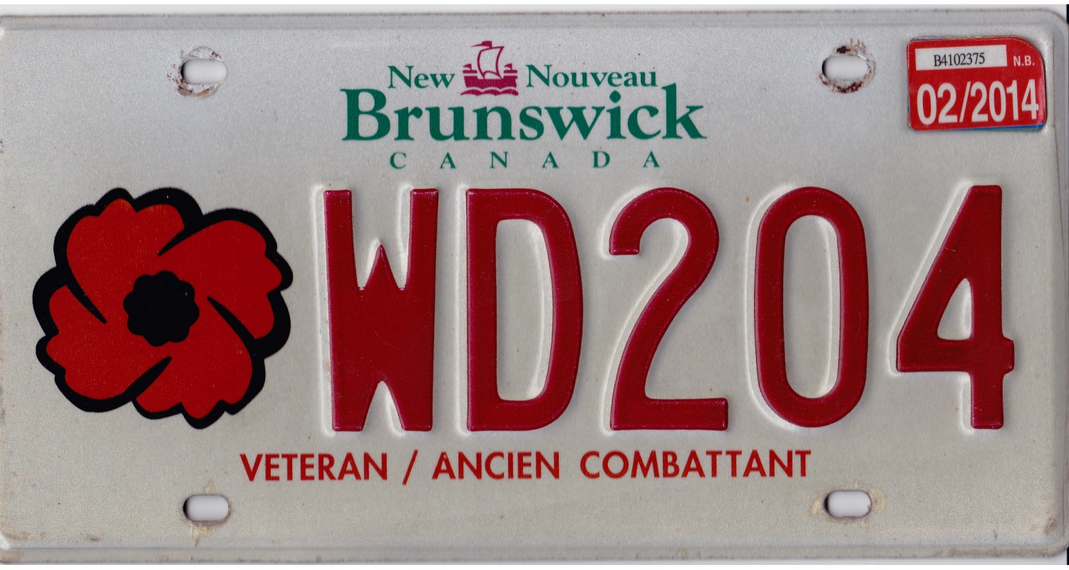 New Brunswick 2014 veteran