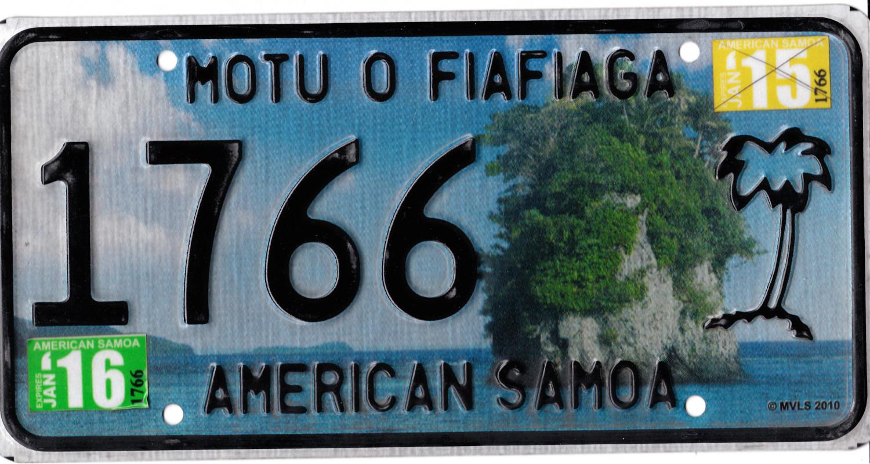 American Samoa 2016