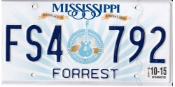 Mississippi 2015-FORREST COUNTY