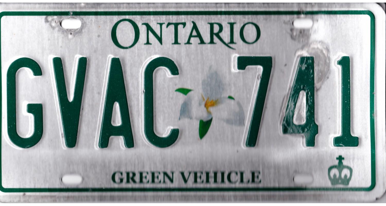 Ontario 2015 electric vehicle