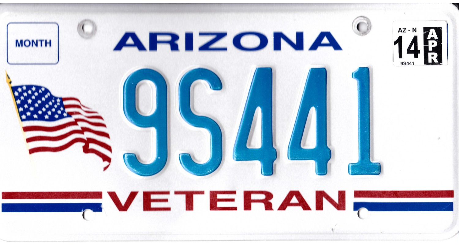 Arizona 2014-VETERAN-FLAG