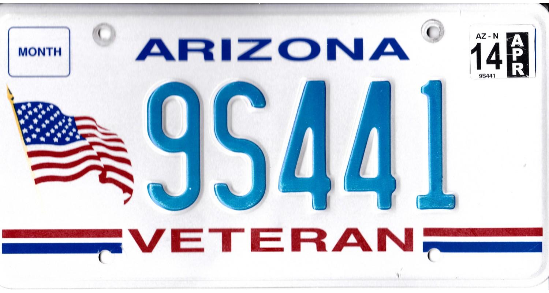 Arizona 2014-VETERAN-FLAG