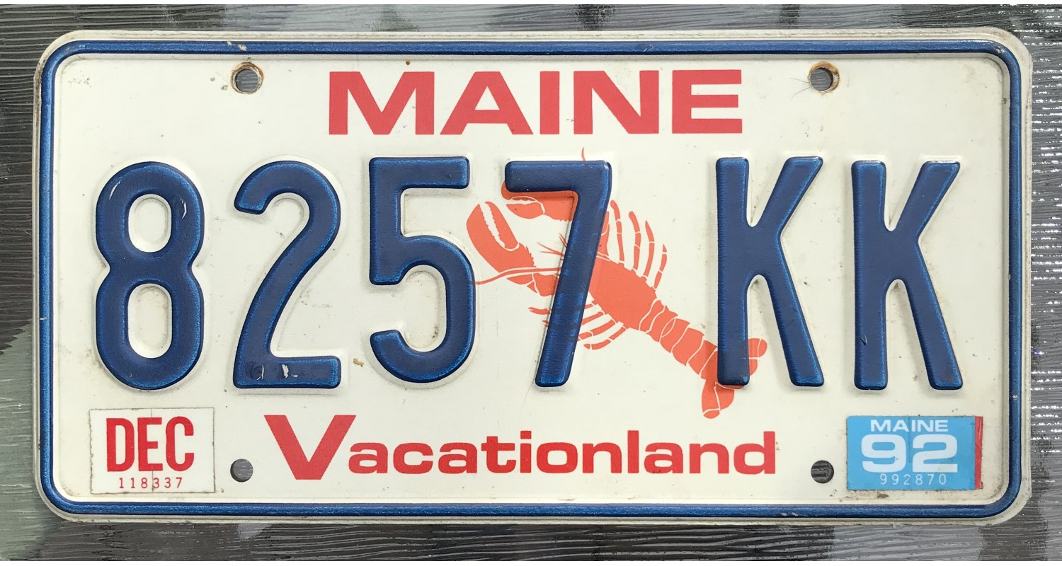 Maine 1992-LOBSTER
