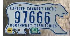 NorthWest Territories 2008-WILDLIFE-BEAR-TRIPLE 666-SATAN