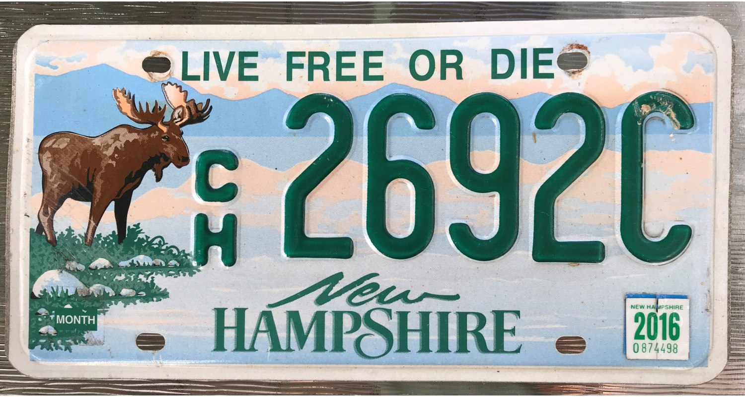 New Hampshire 2016-LIVE FREE OR DIE-MOOSE