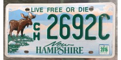 New Hampshire 2016-LIVE FREE OR DIE-ORIGNAL