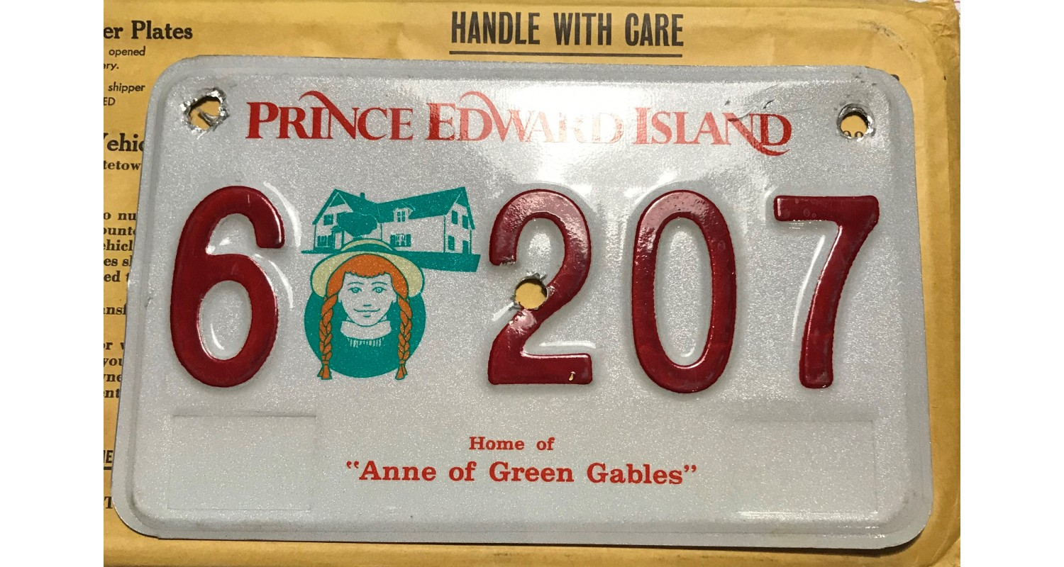 Prince Edward Island 2006-ANNE OF THE GREEN GABLES MOTORCYCLE