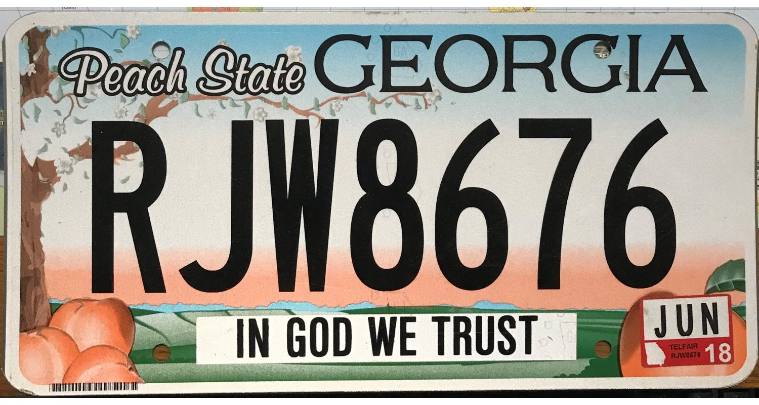 GEORGIA 2016-IN GOD WE TRUST