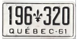 Québec 1961