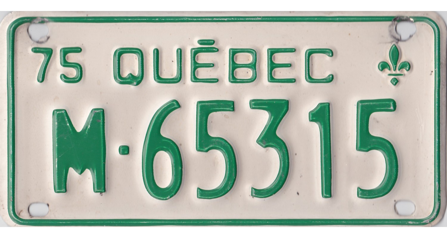 Quebec 1975 motorcycle