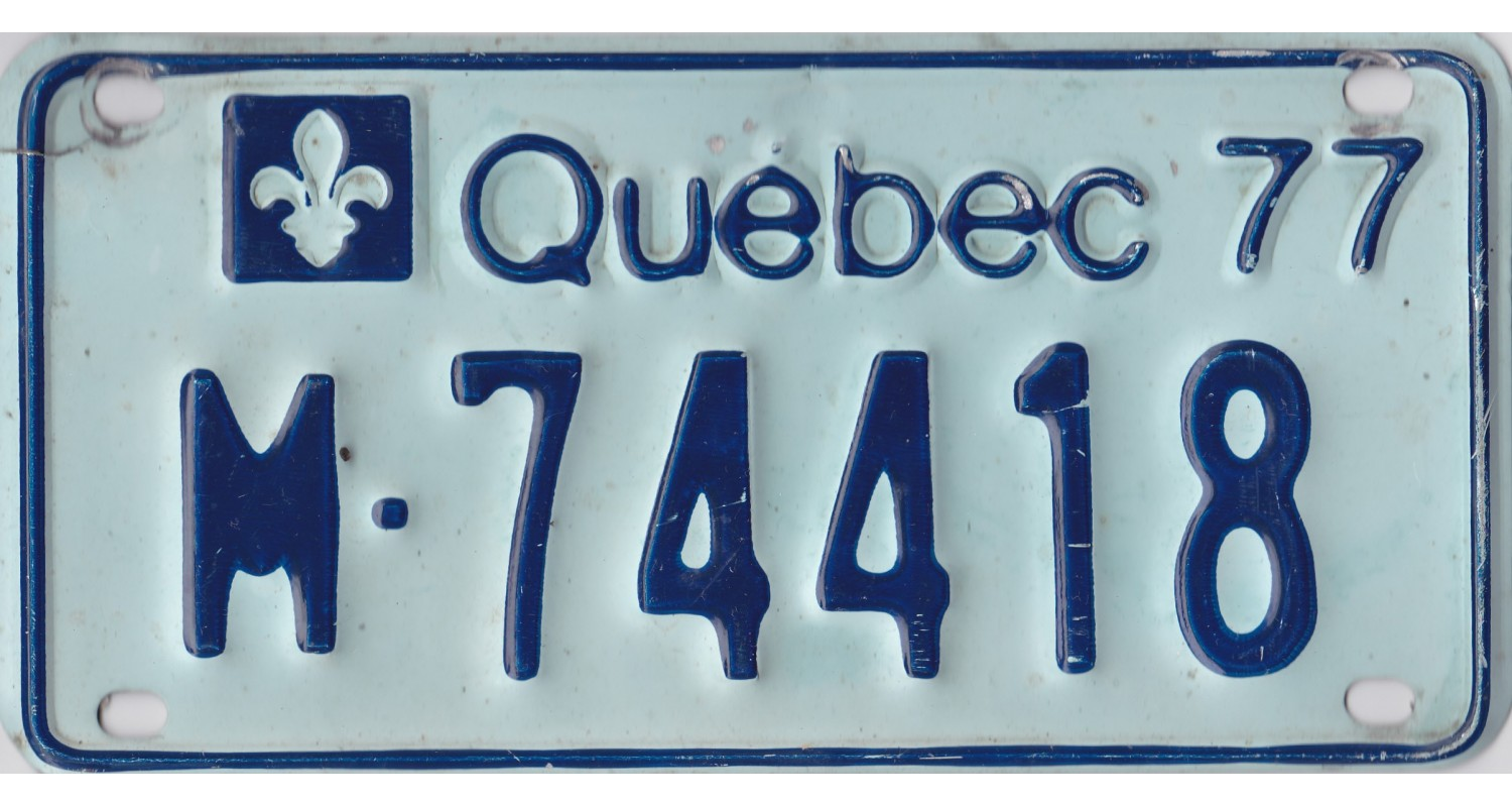 Quebec 1977 motorcycle