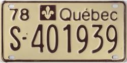 Québec 1978 motoneige