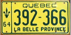 Québec 1964