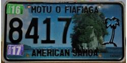 American Samoa 2017