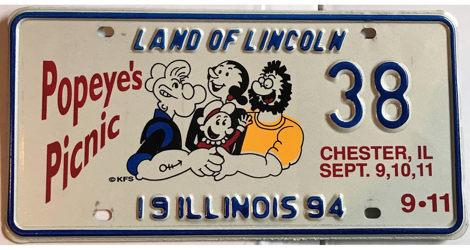Illinois 1994-POPEYE