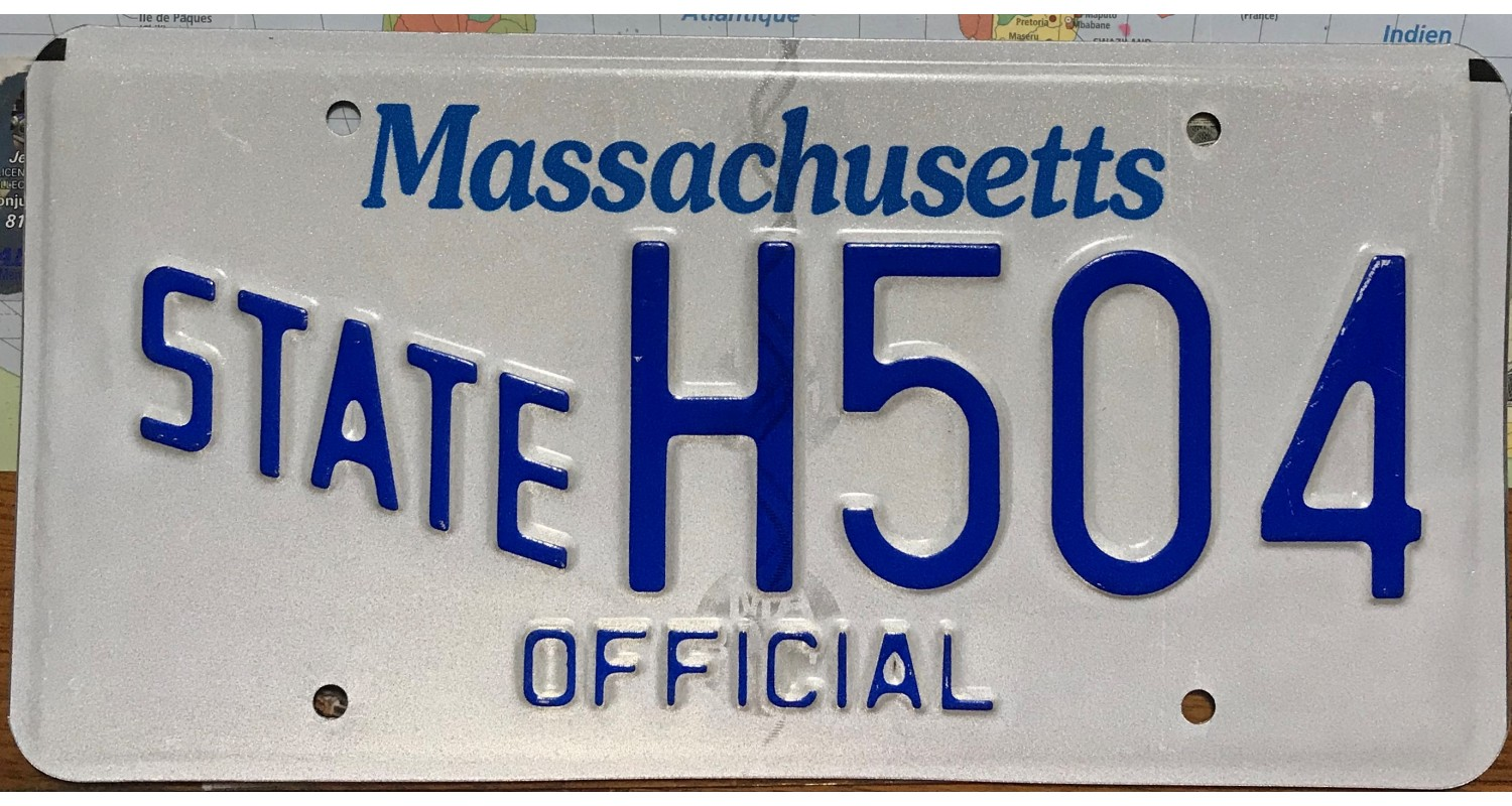 Massachusetts 2015's Sate Official Police