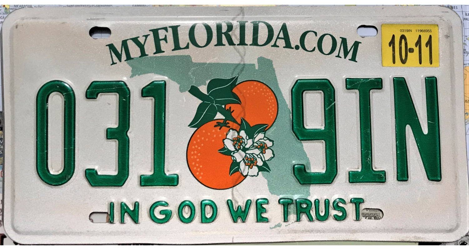 Florida 2011-IN GOD WE TRUST