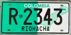 COLOMBIA 2010's RIOHACHA COUNTY