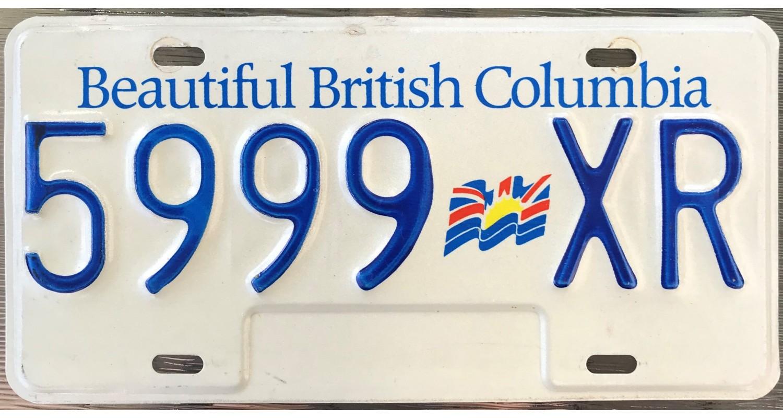 TRIPLE NUMBERS license plates