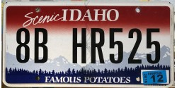Idaho 2012-FAMOUS POTATOES