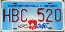 Terre-Neuve-et-Labrador années 1999 Cabot 500 years