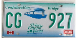 Prince Edward Island 2002-CONFEDERATION BRIDGE-FLAG