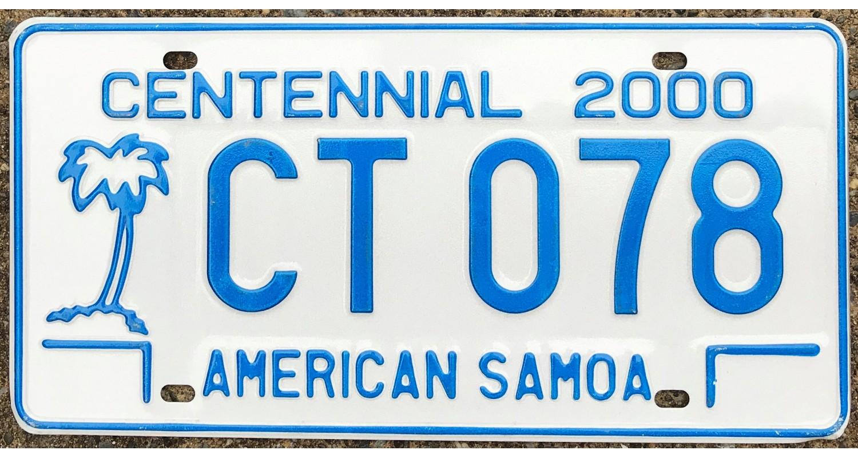American Samoa 2000-CENTENNIAL