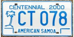 American Samoa 2000 CENTENNAIRE