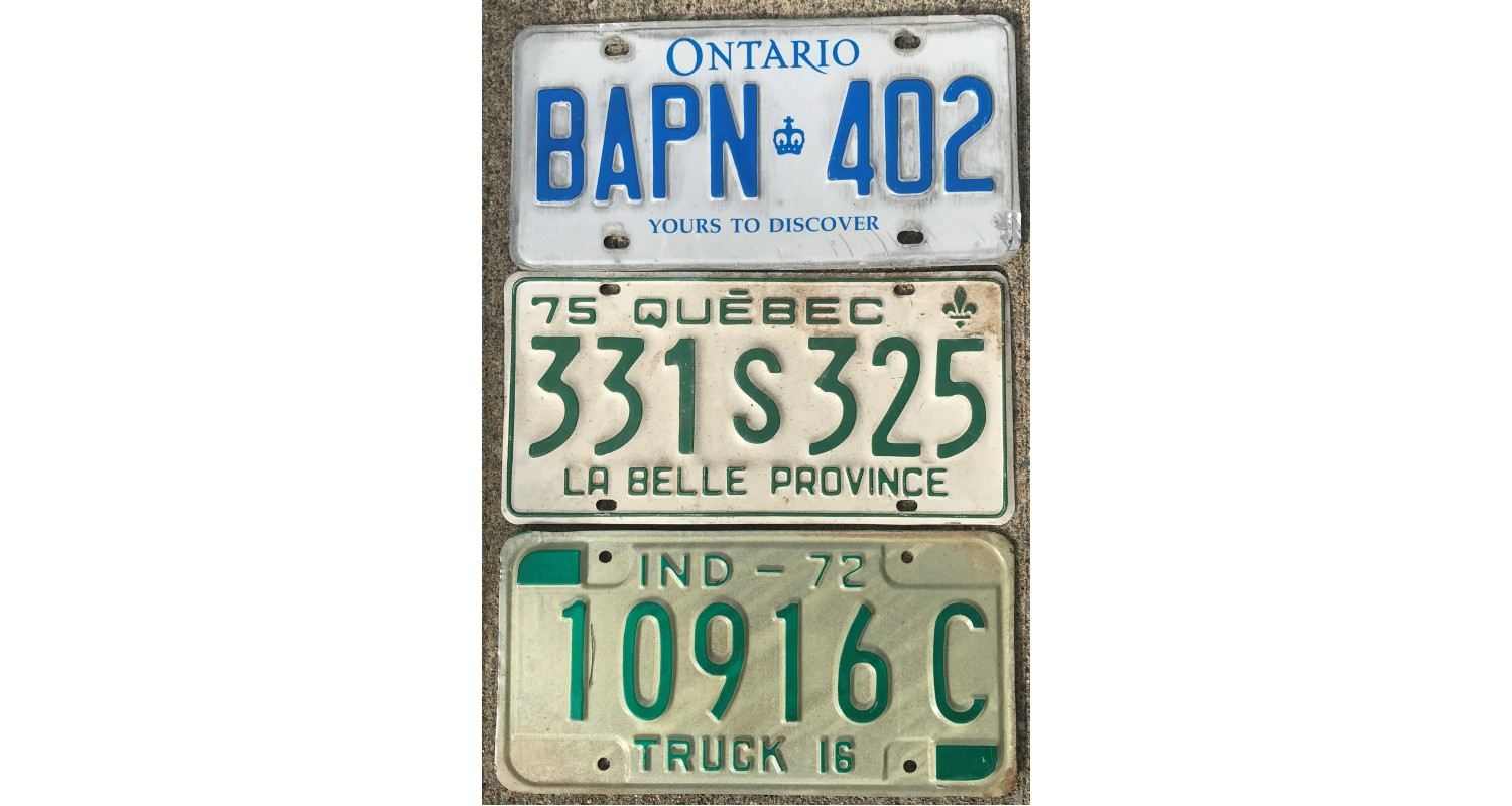 Plate Lots License Plates