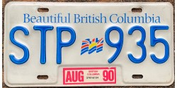British Columbia 1990-FLAG