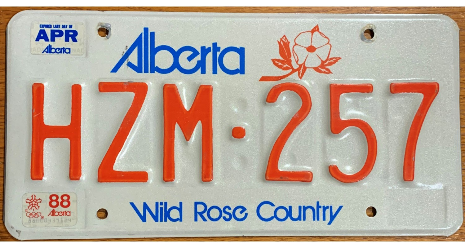 Alberta 1988 calgary winter olympic