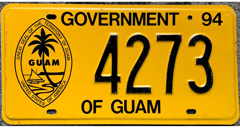 GUAM USA 1994 GOVERNMENT