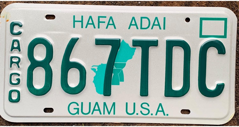 GUAM USA 1993 CARGO