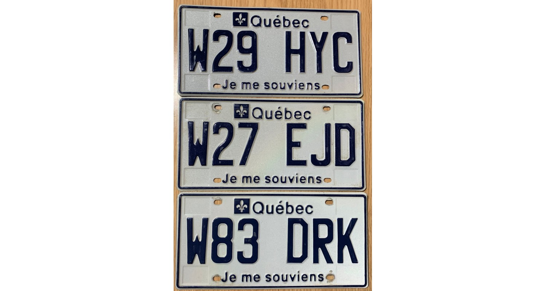 Quebec 2010's-LOT OF 3