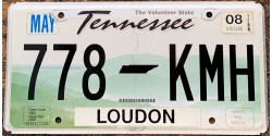 Tennessee 2008-LOUDON COUNTY